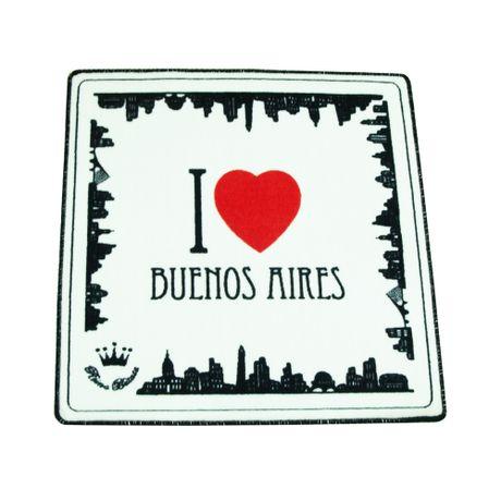 Alfombra I love Buenos Aires