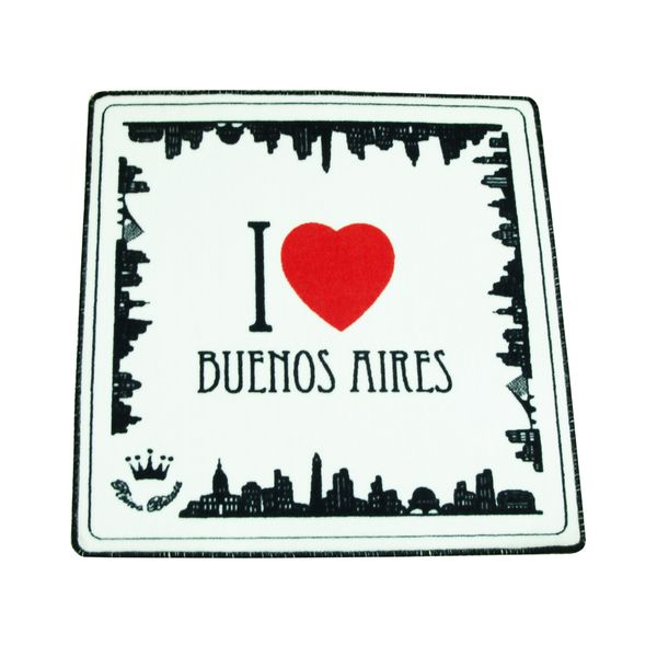 Alfombra I love Buenos Aires