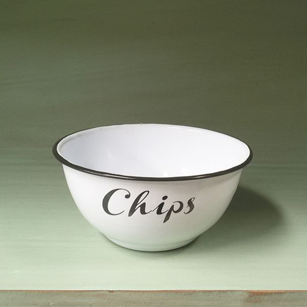 Bowl Enlozado Chips