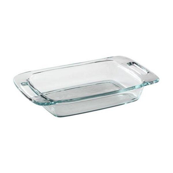 Fuente para horno rectangular con manijas Easy Grab® 1,9 litros- Pyrex®