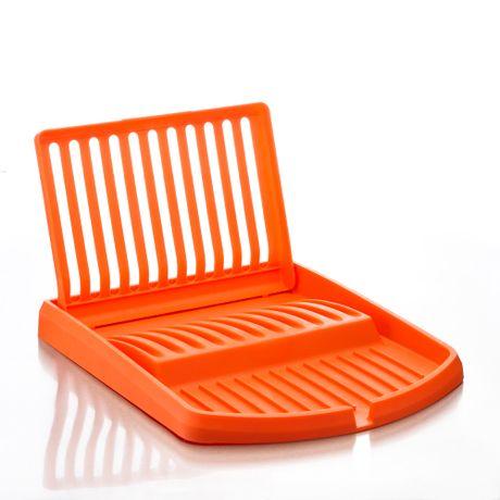 Secaplatos Plegable Naranja