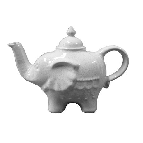 Tetera Elefante color Tiza