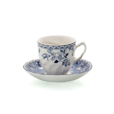 Taza de café con plato Devon Cottage