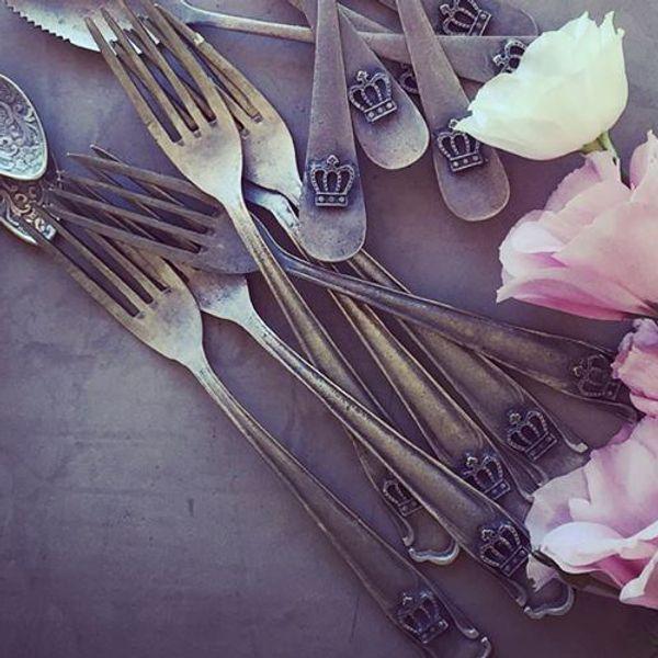 Tenedores-Antique-Corona-grandes---6-piezas