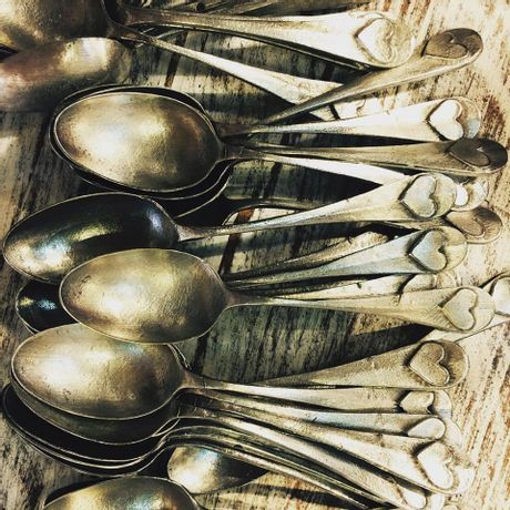Cucharitas Antique Corazón