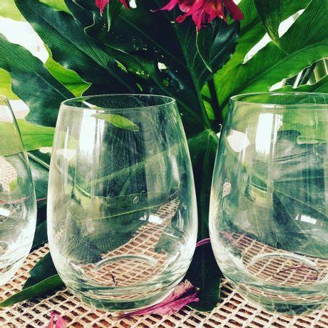Vasos Bombé de Cristal de 540ml