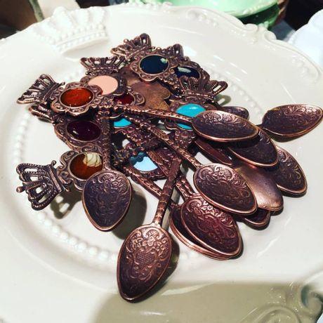 Cucharas-Antique-Corona-de-Reina---8-piezas