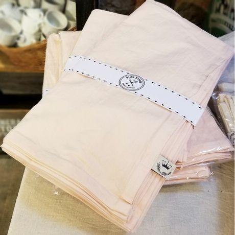 Mantel Cuadrado de Lienzo color-Rosa de 2.0x2.0