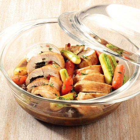 Cacerola para horno con tapa - de 2,8 litros Marinex®