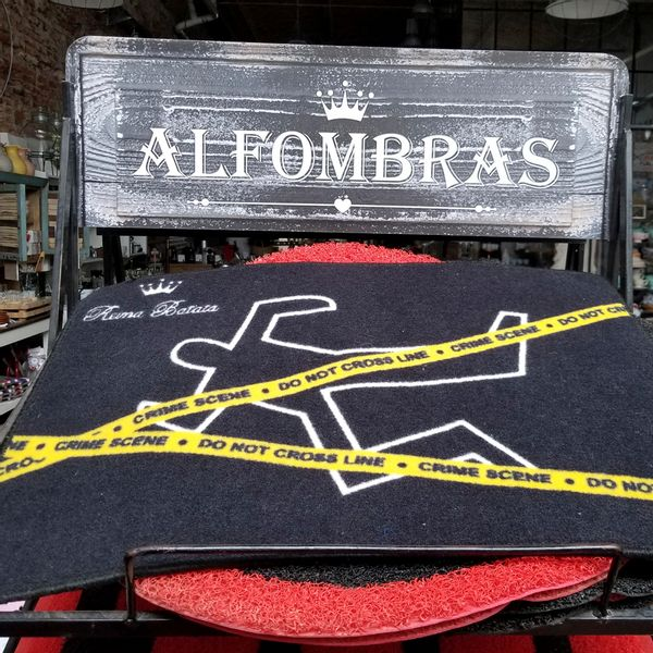 Alfombra Crime Scene