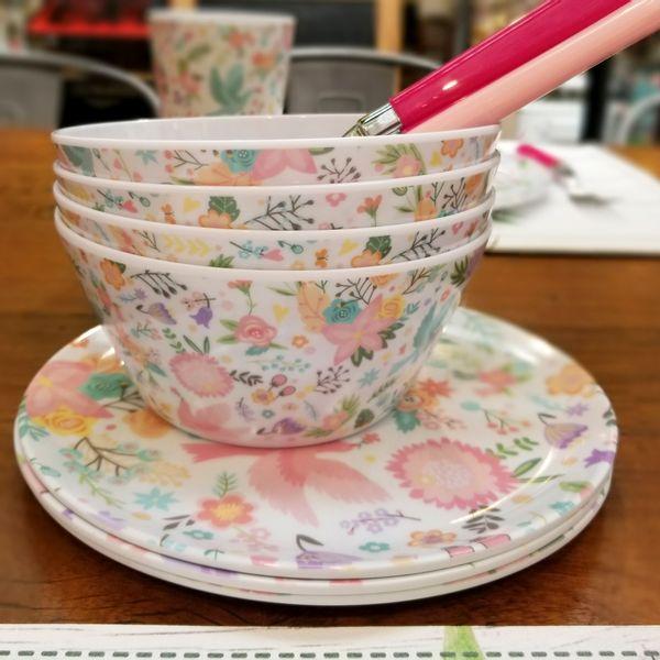 Bowl de melamina - Flores