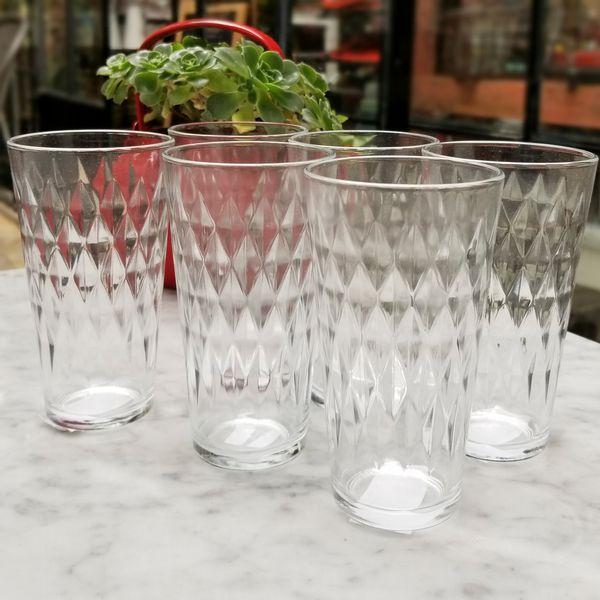 Set x 6 Vasos de trago largo Vitrage