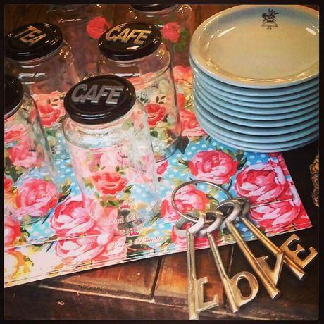 Set de frascos Café & Tea