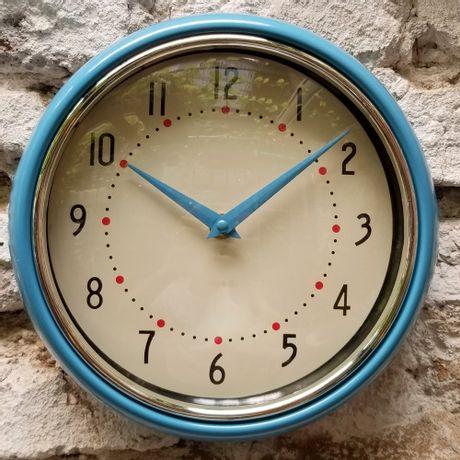 Reloj de Pared Vintage Celeste