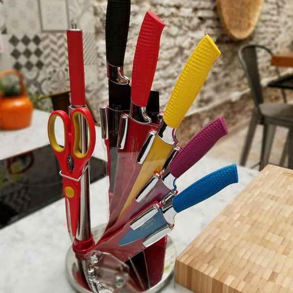 Taco de Cuchillos - 7 piezas