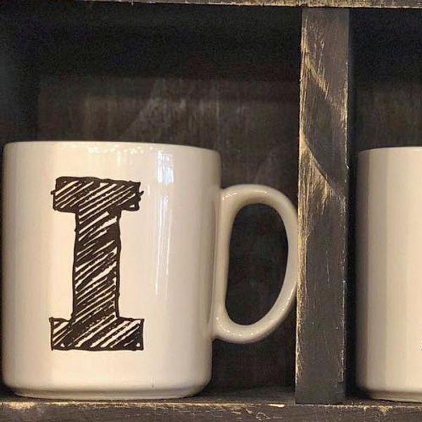 Mug Letra I