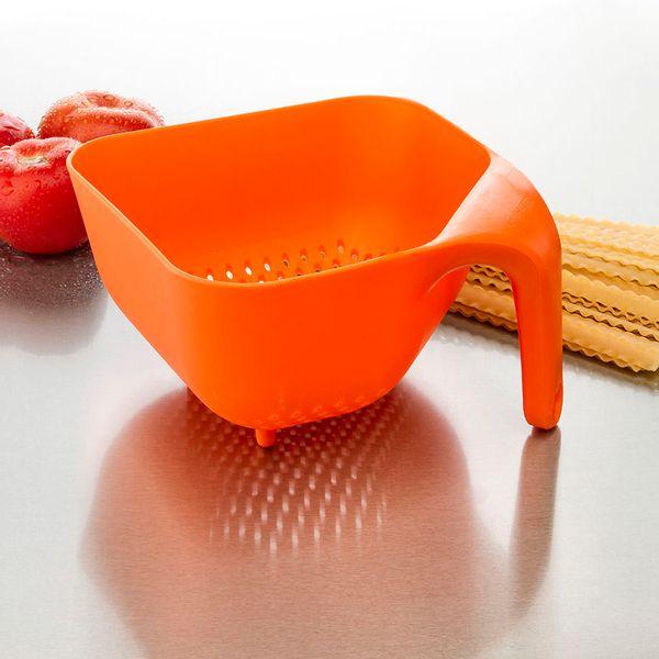 Colador Cuadrado Naranja