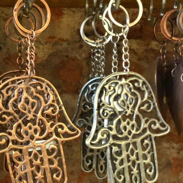 Llavero Antique Mano de Fatima