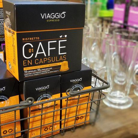 Caja 10 Cápsulas de Café para NESPRESSO Viaggio