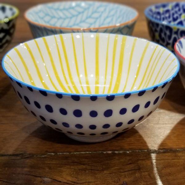 Bowl con Lunares Azules