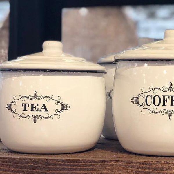 Tarro Enlozado Tea