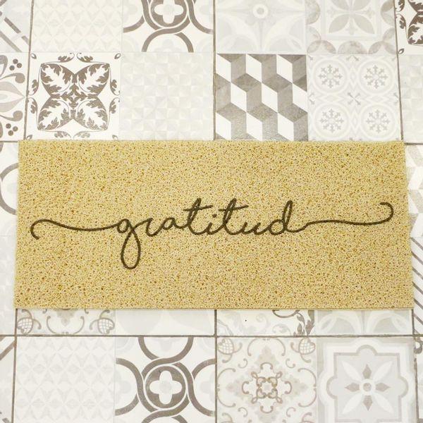 Felpudo Gratitud