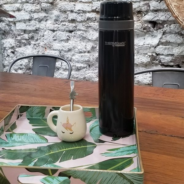 Termo negro Thermos® de 1 litro