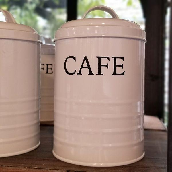Tarro Blanco Café