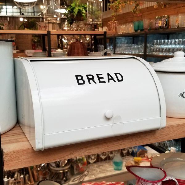 Panera Bread de Metal Con Tapa