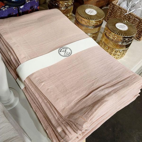 Mantel Gasa de Algodón 3,0 x 1,5 color Rosa