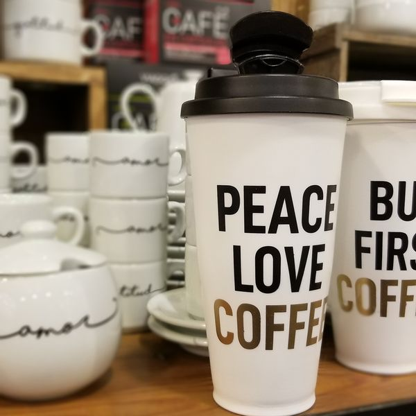 Vaso Térmico Peace Love Coffee