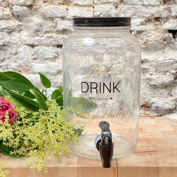 Dispenser Just have a drink