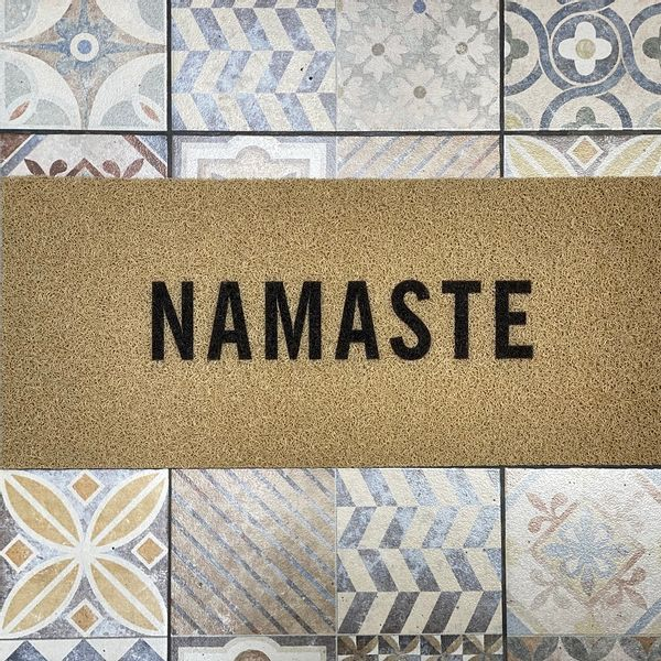 Felpudo Namaste