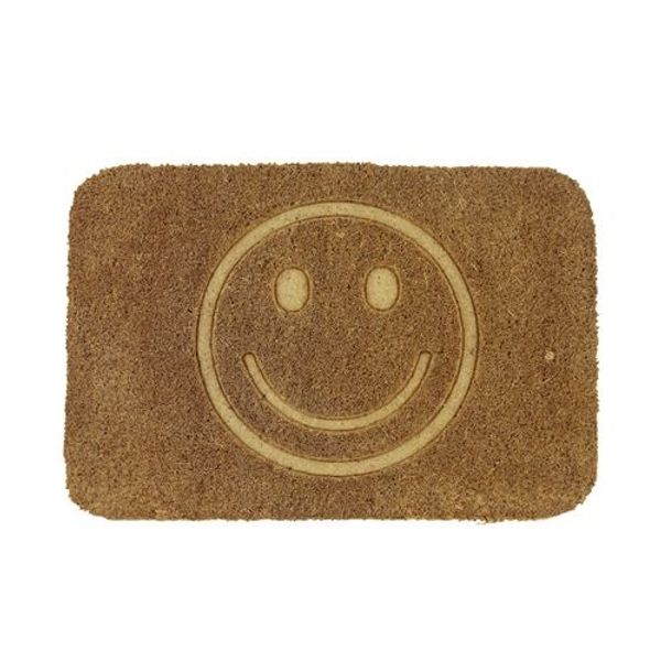 Felpudo con relieve Smile