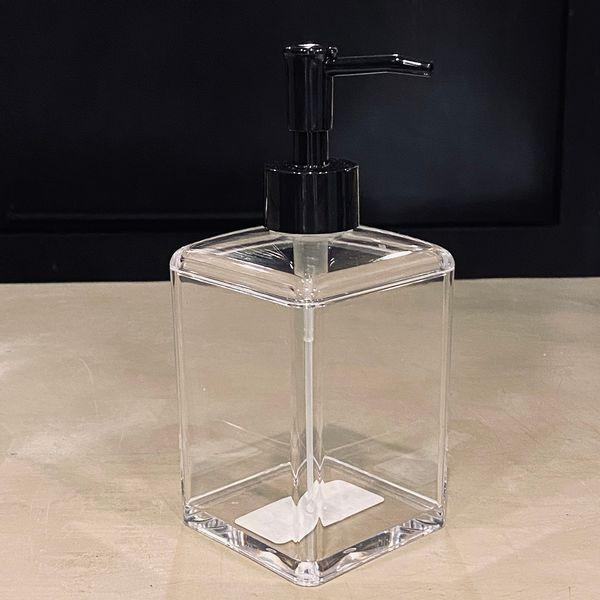 Dispenser jabón líquido de acrílico cuadrado