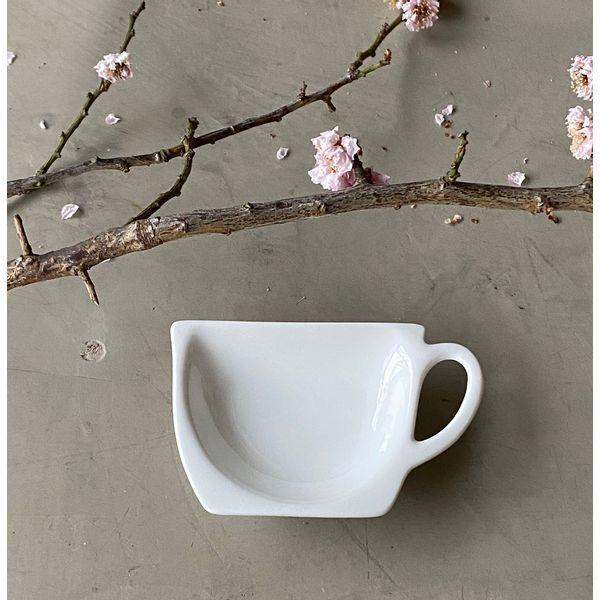 Posa saquito de té diseño taza