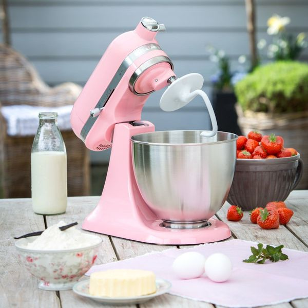 Batidora Kitchenaid Artisan Mini 3,3 lts Rosa