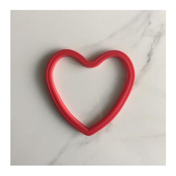 Molde para fritar forma corazón