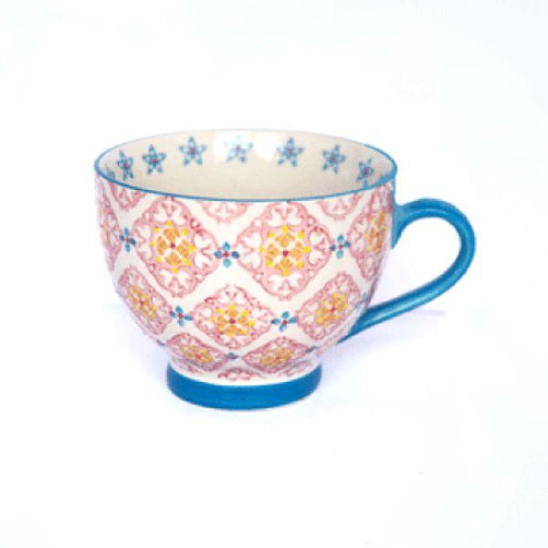 Tazon tramado de cerámica