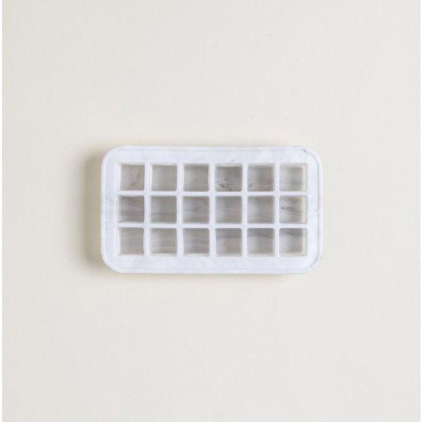 Molde para hielo cubos de silicona