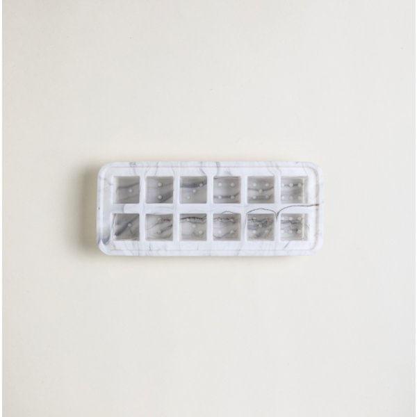 Molde para hielo dados de silicona