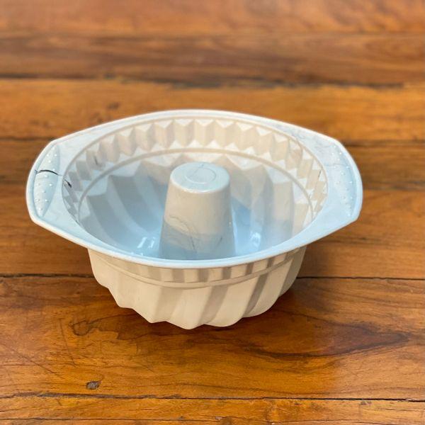 Molde para flan silicona mármol 28 x 11 cm