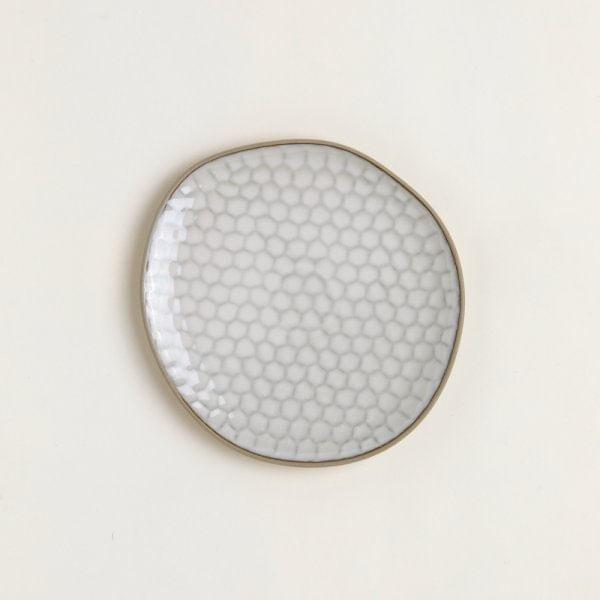 Plato cerámica panal 27.1 cm