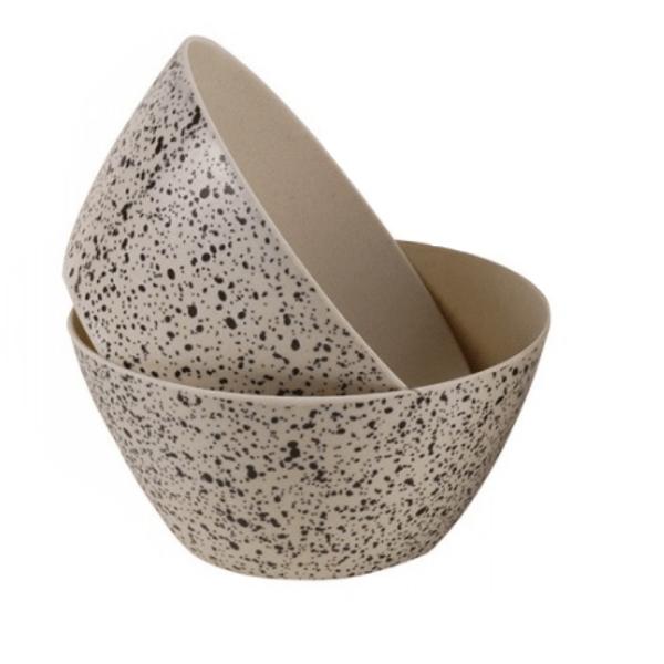 Bowl de madera bamboo 15.7 cm