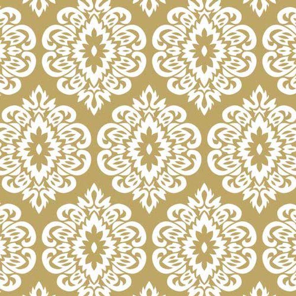Mantel ecocuero 1.4 x 3.0 mts Mandala Oro
