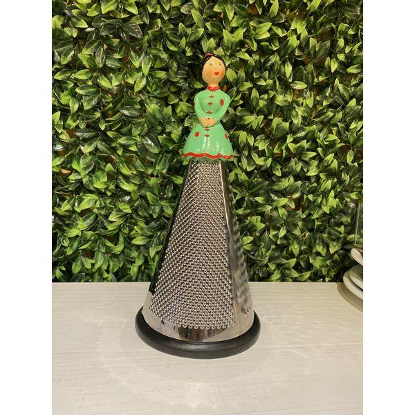 Rallador 3 caras acero inoxidable lady verde