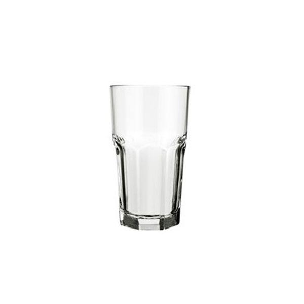Vaso vidrio Bristol 340 ml trago largo