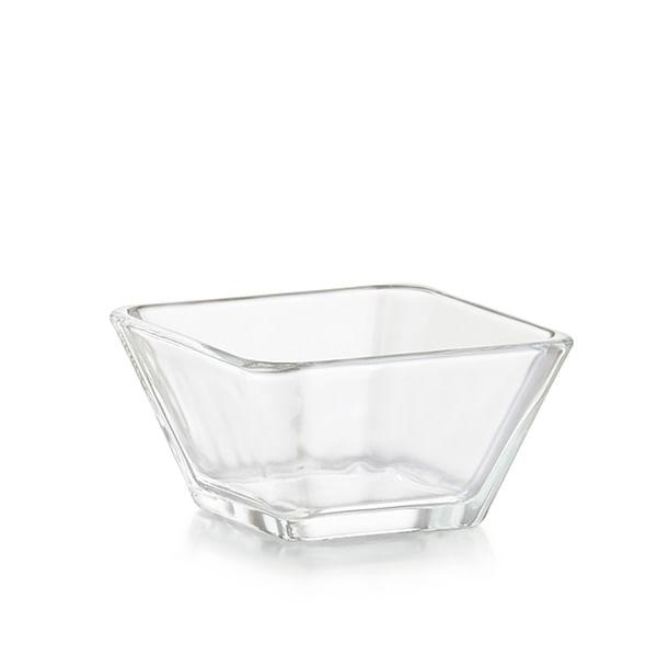 Mini Bowl cuadrado de vidrio
