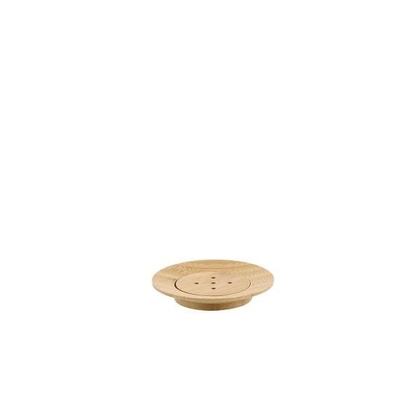 Jabonera de bamboo cónico