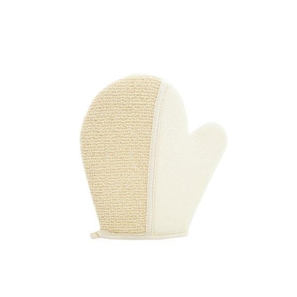 Esponja natural en forma de guante